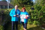 Cllrs Bobby Good & Yvonne McNeilly