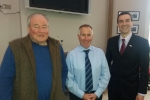 Cllrs Jamie McGrigor, Gary Mulvaney & Alastair Redman