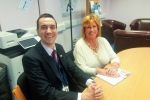 Cllrs Alastair Redman & Yvonne McNeilly