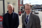 Donald Cameron MSP with Cllr Andrew Vennard
