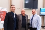 Cllrs Alastair Redman, Jamie McGrigor and Bobby Good